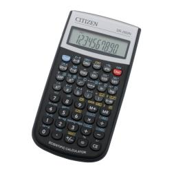 Calculatrice Citizen SR-260N - Calculatrice scientifique - 10 chiffres + 2 exposants - pile - noir