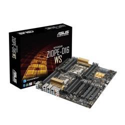 Carte mère ASUS Z10PE-D16 WS - Carte-mère - SSI EEB - Socket LGA2011-v3 - 2 CPU pris en charge - C612 - USB 3.0 - 2 x Gigabit LAN - carte graphique embarquée - audio HD (8 canaux)