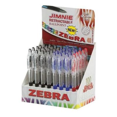 Zebra - CF40ESPOSIT JIMNIE 0.7MM ASSORTIT