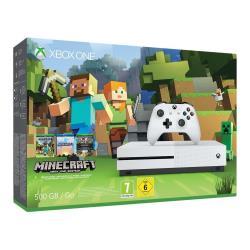Console Microsoft - XBOX ONE S 500GB + Minecraft