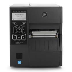 Imprimante thermique code barre Zebra ZT400 Series ZT410 - Imprimante d'étiquettes - DT / TT - Rouleau (11,4 cm) - 203 dpi - jusqu'à 356 mm/sec - USB 2.0, LAN, série, hôte USB, Bluetooth 2.1 - barre de déchirement