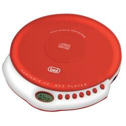 Lettore CD portatile Trevi - CMP 498 Rosso