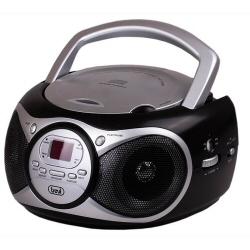Boombox Trevi - CD 512 Radio Aux In Nero