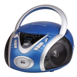 Boombox Trevi - CMP 542 USB Blu