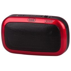 Radio Trevi RS 745 - Haut-parleur - pour utilisation mobile - 4 Watt - rouge
