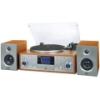 Micro Hi-Fi Trevi - TT 1100 Legno