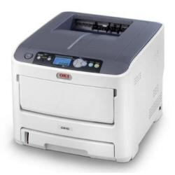 Imprimante laser OKI C610dn - Imprimante - couleur - Recto-verso - LED - A4/Legal - 1200 x 600 ppp - jusqu'� 36 ppm (mono) / jusqu'� 34 ppm (couleur) - capacit� : 400 feuilles - USB, LAN