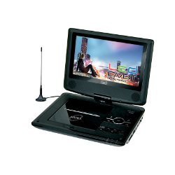 Lettore DVD portatile Trevi - DVBX 1412 con DVB-T Nero