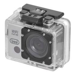Caméra sportive trevi Go 2500 WIFI - Caméra de poche - fixable - 1080p / 30 pi/s - 5.0 MP - Wi-Fi - sous-marin jusqu'à 3 m - argenté(e)