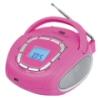 Boombox Trevi - KB 508 USB Rosa