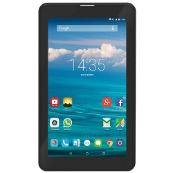 "Tablette tactile trevi Tab 7 4G Q - Tablette - Android 5.1 (Lollipop) - 8 Go - 7"" IPS (1024 x 600) - Logement microSD - 4G - noir"