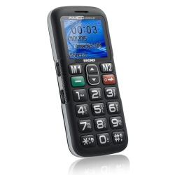 Telefono cellulare Brondi - AMICO SEMPLICE+ NERO