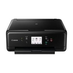 Imprimante  jet d'encre multifonction Canon PIXMA TS6050 - Imprimante multifonctions - couleur - jet d'encre - 216 x 297 mm (original) - A4/Legal (support) - jusqu'à 15 ipm (impression) - 120 feuilles - USB 2.0, Wi-Fi(n)