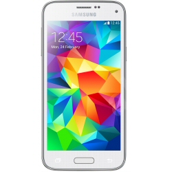 "Smartphone Samsung Galaxy S5 Mini - SM-G800F - smartphone - 4G LTE - 16 Go - microSDXC slot - GSM - 4.5"" - 1 280 x 720 pixels - Super AMOLED - 8 MP - Android - blanc"