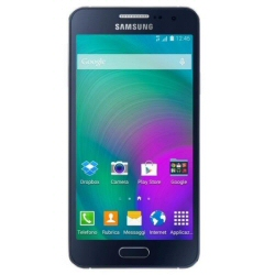"Smartphone Samsung Galaxy A3 - SM-A300FU - smartphone - 4G LTE - 16 Go - microSDXC slot - GSM - 4.5"" - 960 x 540 pixels - Super AMOLED - 8 MP (caméra avant de 5 mégapixels) - Android - noir minuit"