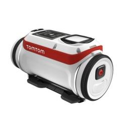 Caméra sportive TomTom Bandit - Premium Pack - caméra de poche - fixable - 4K - Wi-Fi, Bluetooth - sous-marin jusqu'à 50 m - blanc