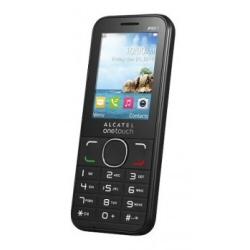 Téléphone portable Alcatel One Touch 20.45X - Téléphone mobile - 3G - microSDHC slot - GSM - 240 x 320 pixels - 0,3 MP - noir