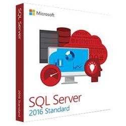Logiciel Microsoft SQL Server 2016 Standard - Ensemble de boîtes - 1 serveur, 10 clients - DVD - pas aux Etats-Unis - Win - anglais