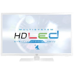 "TV LED trevi MULTISYSTEM LTV 2401 SAT - Classe 24"" TV LED - 720p - D-LED Backlight - blanc"
