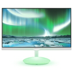"Écran LED Philips Moda 275C5QHGSW - Écran LED - 27"" - 1920 x 1080 Full HD (1080p) - AH-IPS - 250 cd/m² - 1000:1 - 5 ms - HDMI, VGA, MHL - blanc brillant"