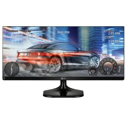 "Écran LED LG 29UM58-P - Écran LED - 29"" - 2560 x 1080 - IPS - 250 cd/m² - 1000:1 - 5 ms - 2xHDMI"