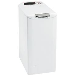 Lave-linge Candy Dynamic NEXT S372TA/1-S - Machine à laver - pose libre - largeur : 40 cm - profondeur : 60 cm - hauteur : 80 cm - chargement par le dessus - 7 kg - 1200 tours/min - blanc