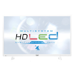"TV LED trevi LTV 3204 SAT - 32"" Classe TV LED - 720p - D-LED Backlight - blanc"