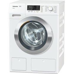 Lave-linge Miele W1 WKG 130 - Machine à laver - pose libre - largeur : 59.6 cm - profondeur : 63.6 cm - hauteur : 85 cm - chargement frontal - 64 litres - 8 kg - 1600 tours/min