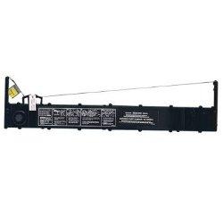 Ruban Genicom - 1 - noir - ruban tissu - pour Serial Matrix 3870, 3870DA, 3870plus, 3974