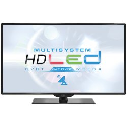 "TV LED trevi LTV 4004 SAT - Classe 40"" TV LED - 1080p (Full HD) - LED à éclairage direct - noir"
