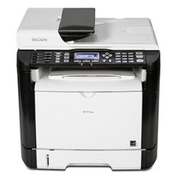 Imprimante laser multifonction Ricoh SP 311SFNw - Imprimante multifonctions - Noir et blanc - laser - A4 (210 x 297 mm) (original) - A4 (support) - jusqu'à 28 ppm (copie) - jusqu'à 28 ppm (impression) - 300 feuilles - 33.6 Kbits/s - USB 2.0, LAN, Wi-Fi(n)