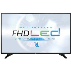 "TV LED trevi LTV 4801 SAT - Classe 48"" TV LED - 1080p (Full HD) - LED à éclairage direct - noir"