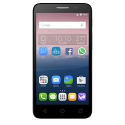 """Smartphone Alcatel One Touch POP 3 (5) 5015D - Smartphone - double SIM - 3G - 8 Go - microSDHC slot - GSM - 5"""" - 480 x 854 pixels - TFT - 5 MP (caméra avant de 2 mégapixels) - Android - noir"""