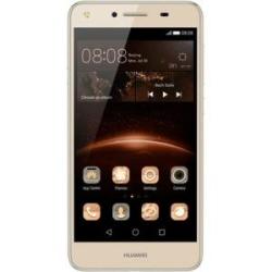 "Smartphone Huawei Y5II - Smartphone - double SIM - 4G LTE - 8 Go - microSDXC slot - GSM - 5"" - 1 280 x 720 pixels - IPS - 8 MP (caméra avant de 2 mégapixels) - Android - or"