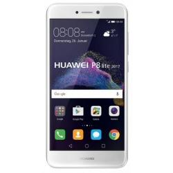"""Smartphone Huawei P8 lite 2017 - Smartphone - 4G LTE - 16 Go - microSDXC slot - GSM - 5.2"""" - 1 920 x 1 080 pixels (423 ppi) - LTPS TFT - 12 MP (caméra avant de 8 mégapixels) - Android - blanc"""