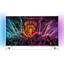 "TV LED Philips 55PUS6501 - Classe 55"" - 6000 Series TV LED - Smart TV - 4K UHD (2160p) - Micro Dimming Pro"