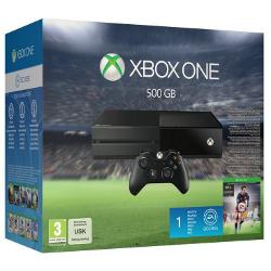 Console Microsoft Xbox One - FIFA 16 Bundle - console de jeux - 500 Go HDD - noir