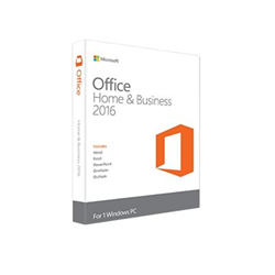 Logiciel Microsoft Office Home and Business 2016 - Pour Dell - licence - 1 PC - OEM - Win