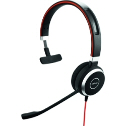 Jabra Evolve 40 UC mono - Casque - sur-oreille