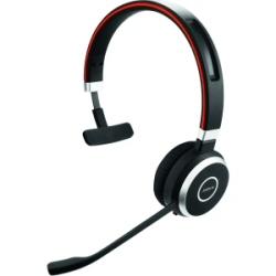Jabra Evolve 65 UC mono - Casque - sur-oreille - sans fil - Bluetooth - avec Jabra LINK 360 Adapter