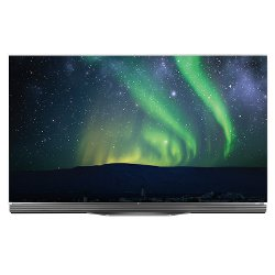 "TV LED LG OLED65E6V - Classe 65"" - E6 Series 3D TV OLED - Smart TV - 4K UHD (2160p) - HDR - Pixel dimming"