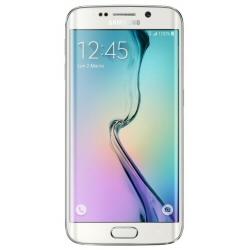 """Smartphone Samsung Galaxy S6 edge - SM-G925F - smartphone - 4G LTE Advanced - 32 Go - GSM - 5.1"""" - 2560 x 1440 pixels (577 ppi) - Super AMOLED - 16 MP (caméra avant de 5 mégapixels) - Android - perle blanche"""
