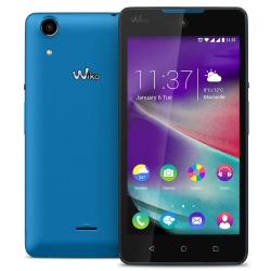 "Smartphone Wiko Rainbow Lite - Smartphone - 3G - 8 Go - microSDXC slot - GSM - 5"" - 854 x 480 pixels - IPS - 5 MP (caméra avant de 5 mégapixels) - Android - TIM - bleu"