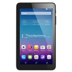"Tablette tactile Alcatel One Touch PIXI 3(7) - Tablette - Android 4.4 (KitKat) - 4 Go - 7"" TFT (1024 x 600) - hôte USB - Logement microSD - noir"