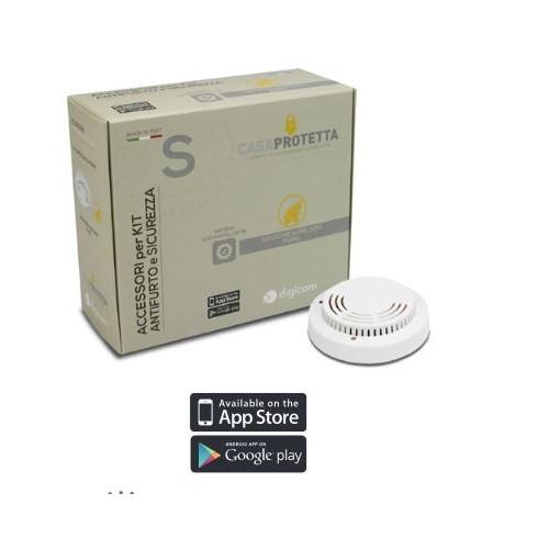 Sensore di fumo Digicom - SENSORE FUMO WIRELESS