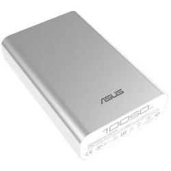 Chargeur ASUS ZenPower - Banque d'alimentation Li-Ion 10050 mAh - 2.4 A (USB (alimentation uniquement)) - argenté(e) - pour ASUS ZenFone 2 Deluxe (ZE551ML)