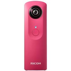Appareil photo Ricoh THETA M15 - Appareil photo numérique - compact - flash 4 - Wi-Fi - rose