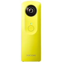 Appareil photo Ricoh THETA M15 - Appareil photo numérique - compact - flash 4 - Wi-Fi - jaune