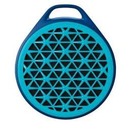 haut-parleur sans fil Logitech X50 - Haut-parleur - pour utilisation mobile - sans fil - 3 Watt - bleu