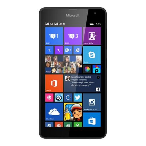 Smartphone Microsoft - LUMIA 535 DUAL SIM BLACK